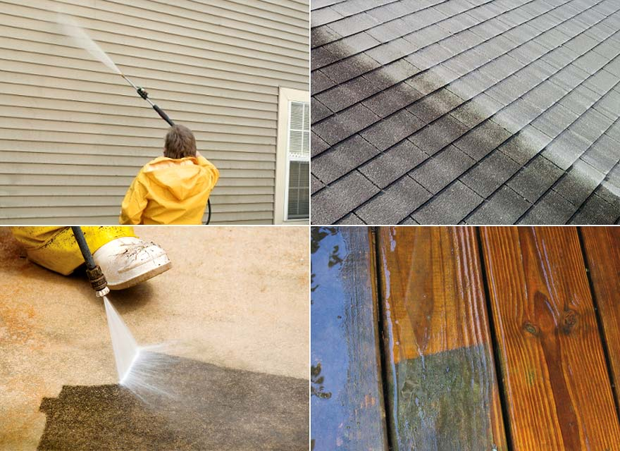 Apartment / Condo Pressure Washing Services