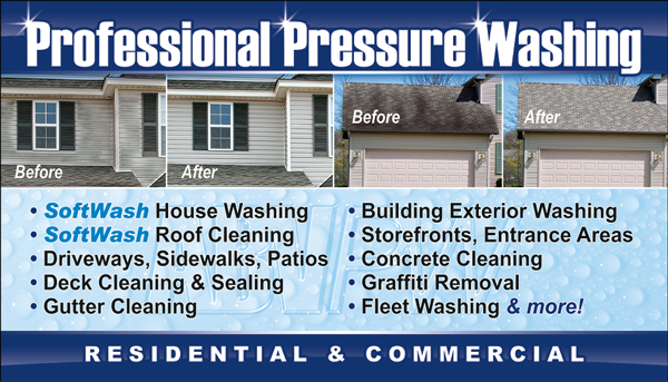 ABV Pressure Washing – Asheboro NC Power Washing Roof Cleaning ...